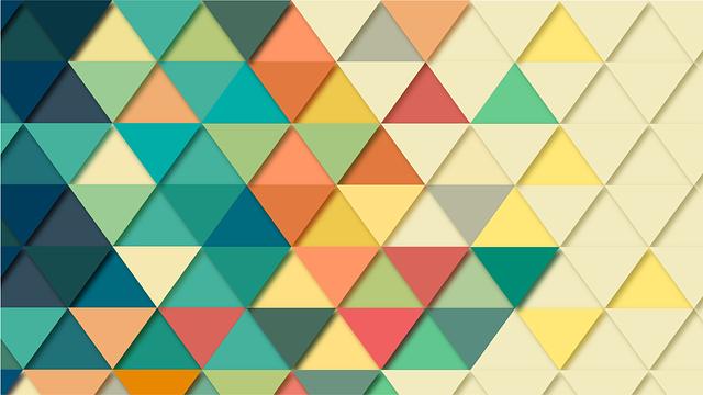 geometryczne dekoracje